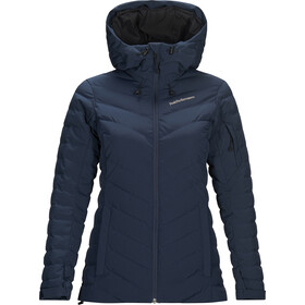Peak Performance Frost Ski Veste Femme, blue shadow